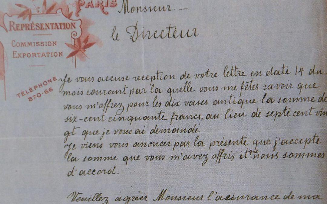 Una falsificación de 1906