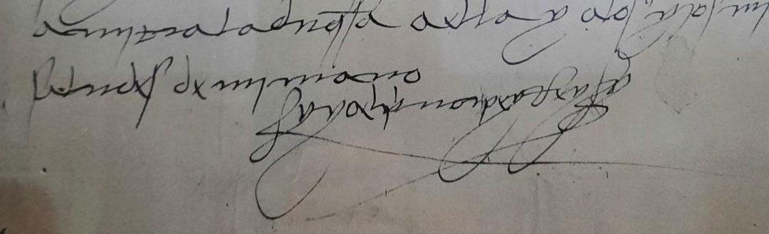 Escritura hiperligada y el rey Fernando el Católico